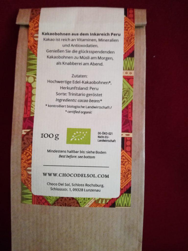Hauptbild: Kakaobohnen geröstet