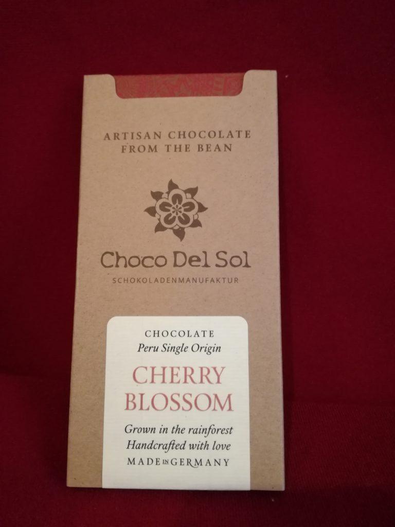Hauptbild: Vegane Bio Schokolade – Cherry Blossom