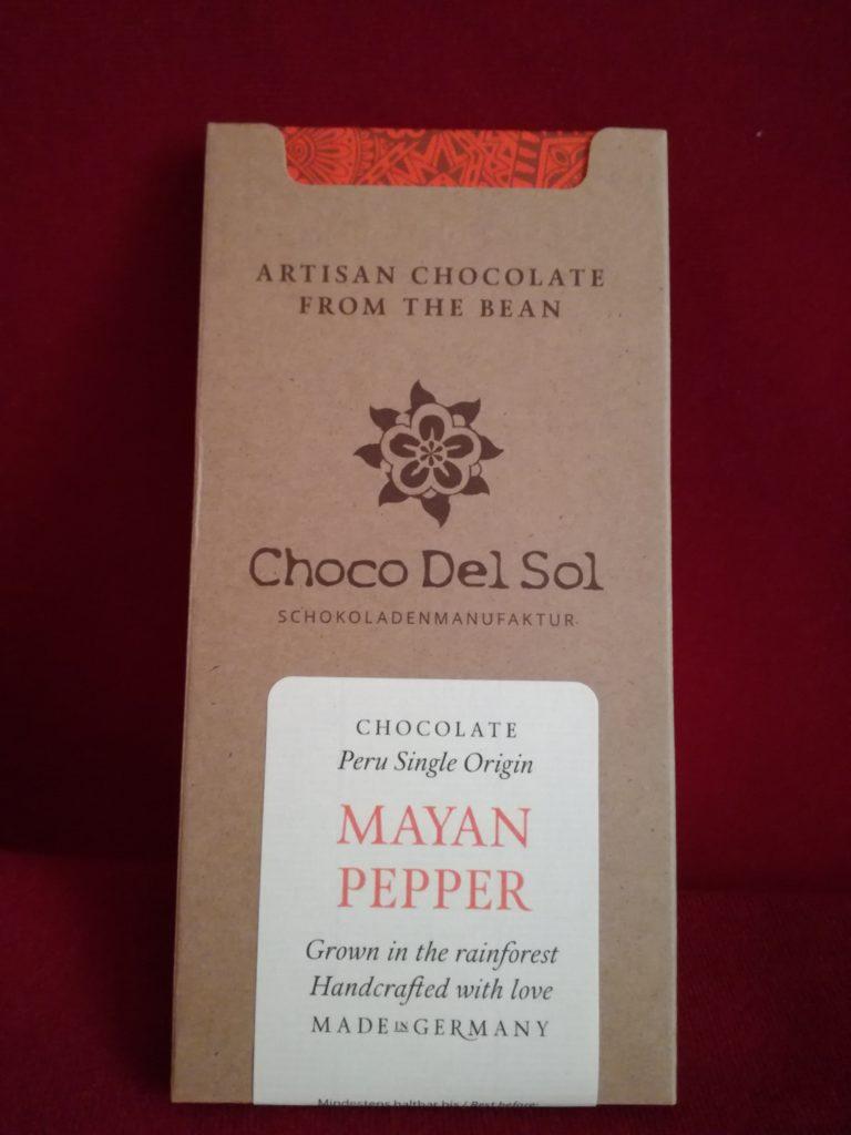 Hauptbild: Vegane Bio-Schokolade Mayan Pepper
